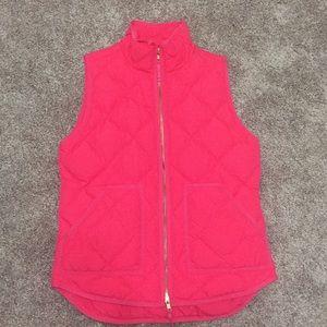 JCREW factory women's quilted puffer vest